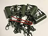 (4 Traps + Setter Tool) FPS DP Dog Proof Coon Traps Powder Coated Raccoon, Skunk, Possum Trapping