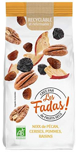Les Fadas De Fruits Secs - Noix De Pecan Pommes Raisins Cerises - Bio