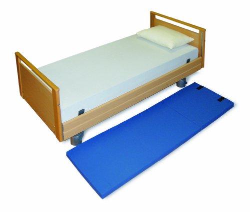 MIP Fallschutzmatte, faltbar mit Befestigungsbändern, 60 x 190 cm