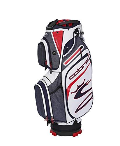 Cobra Golf 2020 Ultralight Cart Bag (Peacoat-Red-White) (909403)