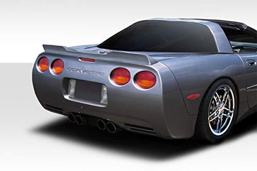 Extreme Dimensions Duraflex Replacement for 1997-2004 Chevrolet Corvette C5 Wickerbill Rear Wing Spoiler - 1 Piece