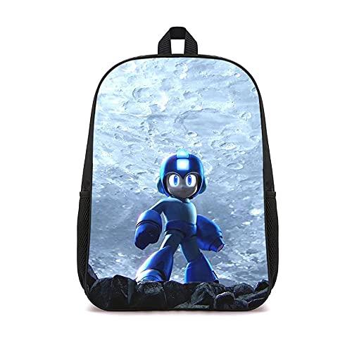 WJHXYD Zaino da scuola stampato in 3D Super Mario Bros Poster anime Zaino leggero per adolescenti Zainetto casual Zaino classico per tutti i giorni 16 pollici