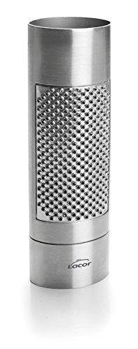 Lacor 67031 Muskatreibe, Edelstahl, grau, 15 x 4,5 x 3 cm