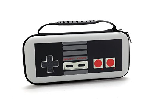 Limited Edition NES Controller Nintendo Switch Case- Console Travel, Storage Carrying Case - Slots for 10 Games-- NES Controller Design - For Fans Wanting the Best in Nintendo Switch Accessories