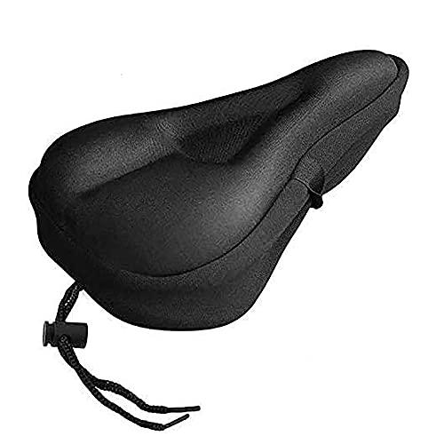 KIHL Funda de cojín con Almohadilla de coloformo de Silicona Ultra Suave, Asiento de sillín de Bicicleta, MTB, Bicicleta de montaña, Ciclismo, Engrosado, Comodidad Adicional