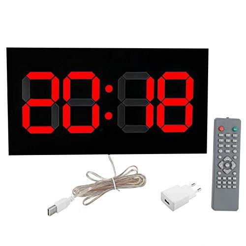 Yisenda Reloj Digital, Reloj, Oficina de acrílico del Dormitorio del Sitio de Estudio para el hogar(Transl)
