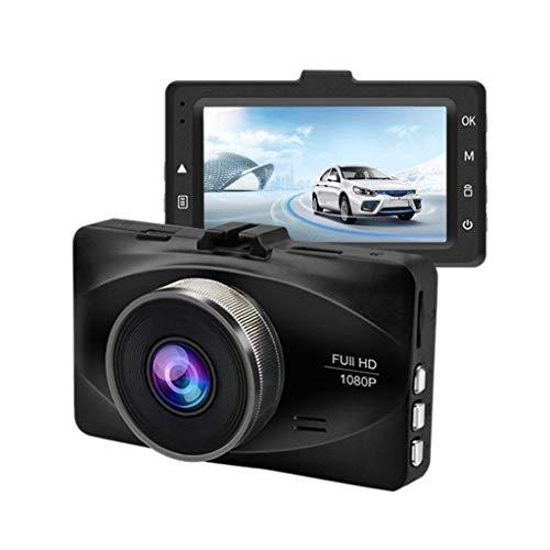 QXHELI Autokamera Weitwinkel-Schlag-Nocken Für Autos Full HD 1080P 3 Zoll IPS-Schirm-Auto-Fahren DVR Parken-Monitor WDR Motion Detection Und G-Sensor