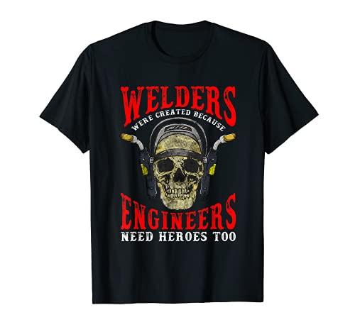 Funny Welding Welder Saying for Men Tig Welder Mig Welder T-Shirt