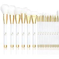 15-Pieces Qivange Makeup Brush Set