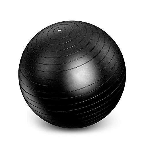 FGGTMO Pelota de ejercicio, Balance de ejercicio bola del ejercicio Equlpment Mejora el dolor de espalda Pelota Suiza gimnasio en casa Yoga DVD bola del ejercicio, para Yoga Embarazo Nacimiento Balan