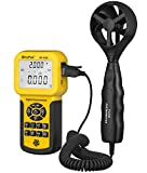 HOLDPEAK HP-856A Digital Auto Calculate CFM Anemometer for Air Flow,0.3~45m/s Air...