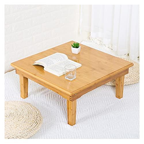 GHHZZQ Escritorio Plegable para Computadora Bambú Mesa De Café Mesa De Té Bandeja De Cama Usado como Bandeja De Desayuno Mesa De Dibujo (Color : A, Size : 100x60x27cm)