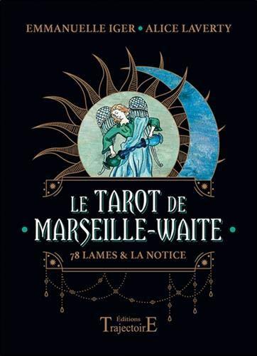 Le Tarot de Marseille-Waite : 78 lames & la notice. Avec 1 pochette satinée
