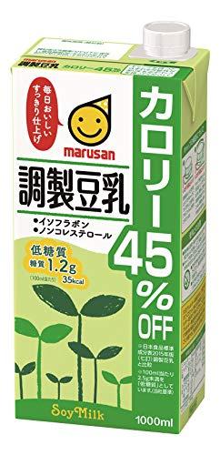 マルサン調製豆乳カロリー45%オフ1L×6本