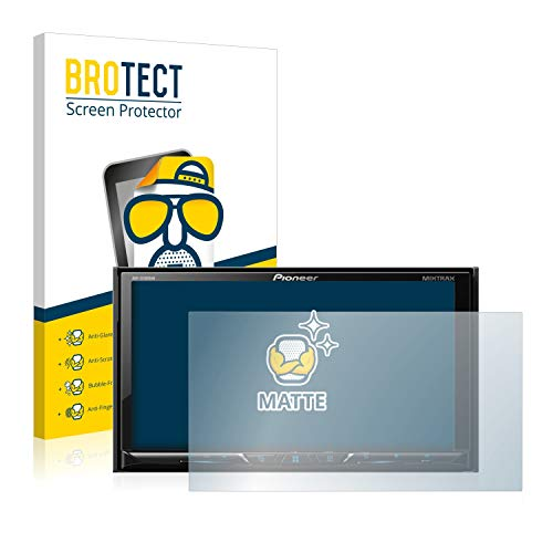 BROTECT 2X Entspiegelungs-Schutzfolie kompatibel mit Pioneer AVH-Z5100DAB Bildschirmschutz-Folie Matt, Anti-Reflex, Anti-Fingerprint