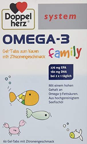 Doppelherz Omega 3 Family System Kautabletten