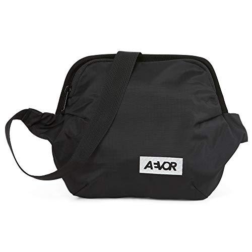 AEVOR Unisex– Erwachsene Hip Bag Plus Hüfttasche, Schwarz, 5x19x22cm