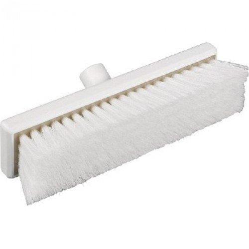Janitorial Express hp059-w igiene piatto spazzare scopa morbida, 300mm, bianco