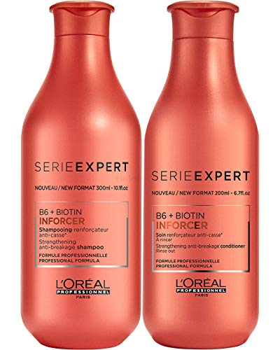 Loreal Serie Expert Inforcer Set - Shampoo 300ml + Conditioner 200ml - Neu
