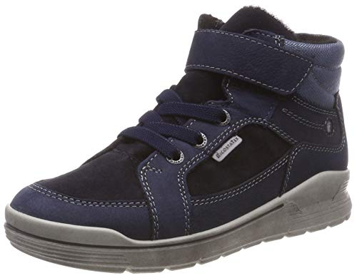 RICOSTA Jungen Mateo Hohe Sneaker, Blau (See 187), 33 EU