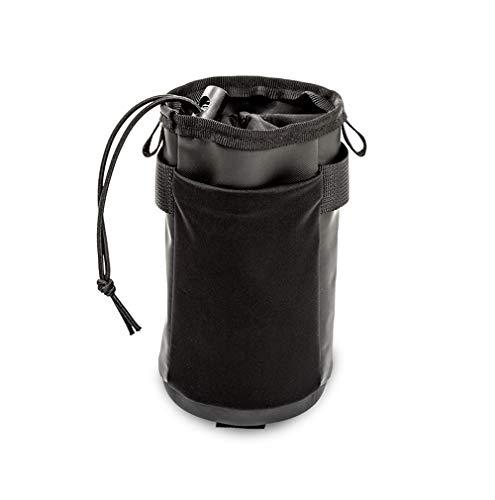 WOTOW Fahrradlenker Insulated Stem Bag, Fahrrad Wasserflaschenhalter Bag Keine Schrauben 4 Verschlussgurte Fahrradrahmen wasserdichte Aufbewahrungstasche Mit Schultergurt für alle Fahrräder Täglicher