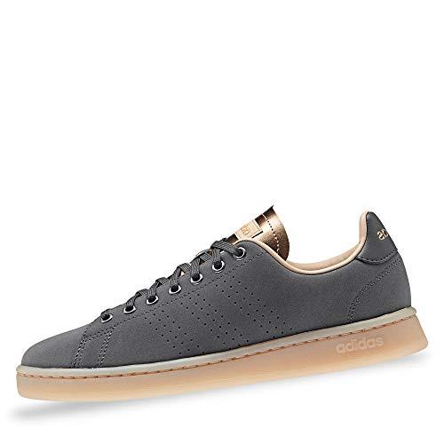 adidas Advantage, Scarpe da Fitness Donna, Multicolore (Grisei/Grisei/Stcapa 000), 36 1/3 EU