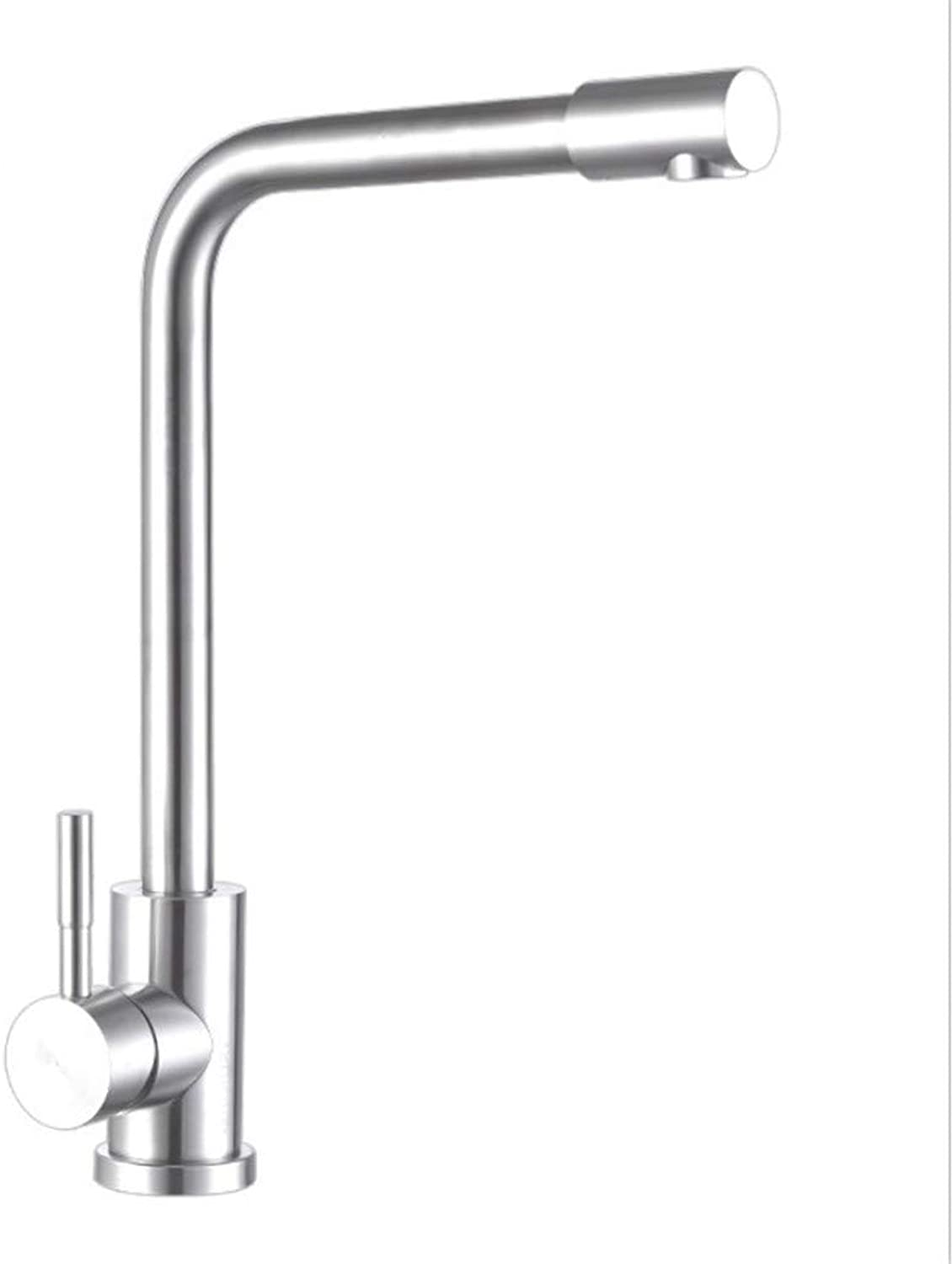 Pull Out The Pull Down Stainless Steel304 Stainless Steel Lead-Free Kitchen Faucets, Hot and Cold Dishes, Pots, Faucets, 360 redations.