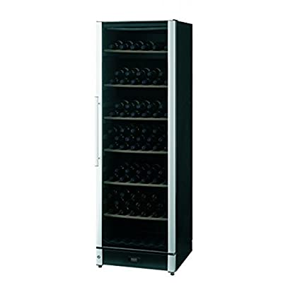 Vestfrost, Black laminated exterior, Ideal for long term storage, Wine Cellar Machine, 1 Door, Capacity 295 ltr / 86 Bottles, 5 Shelves, Size (HxWxD) 1550 x 595 x 595 (mm), Weight 75 kg, 3 Year Warranty