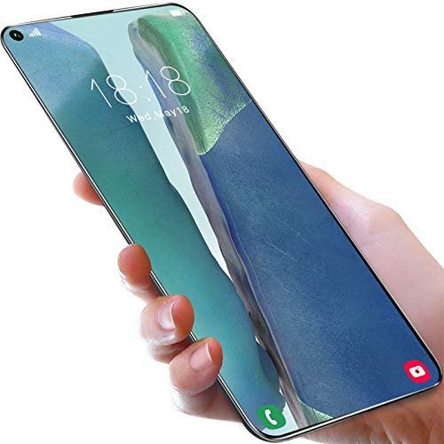 Lenove Teléfono móvil Libres, Note25U Smartphone, 7.2 \'\' Pulgadas Pantalla, 12GB+512GB, 24MP+48MP AI Five Camera, Android 10.0, 5G Dual SIM Smartphone - Huella Digital, Face ID - (3 Colores)