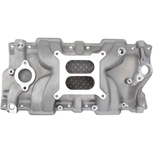 Small Block Chevy Hi-Rise Intake Manifold, Plain Finish