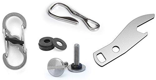 KeySmart Ultimatives Zubehör Paket: Schnell abkoppelbar, Schlüssel Anhänger, Flaschenöffner, lässt sich bis zu 14 Schlüsseln ausbauen und erweitern