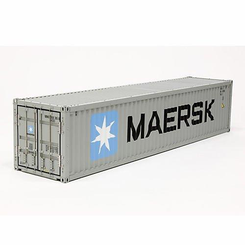TAMIYA 56516 - 1:14 40ft. Maersk Container BAUS.f.56326, Funktionsmodellbau und Zubehör