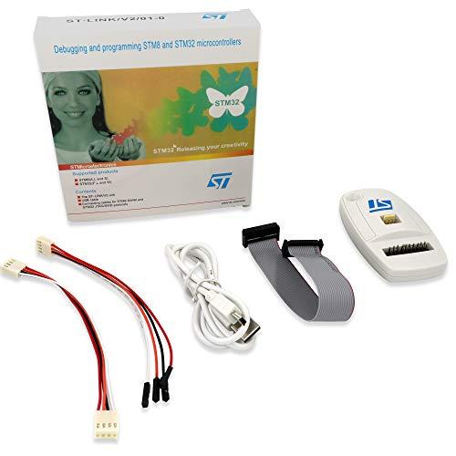 ARCELI ST-LINK / V2 (CN-Version) ST MCU-Mikrocontroller STM8 STM32 JTAG SWD Swim In-Circuit-Debugger-Programmierer-Emulator