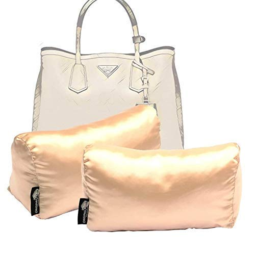 Satin Miami Mall Houston Mall Pillow Luxury Bag Shaper Set Compatible 2 for Pillows t of