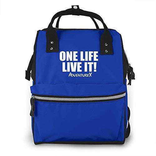 One Life Live It Sac à dos multifonction grande capacité pour bébé