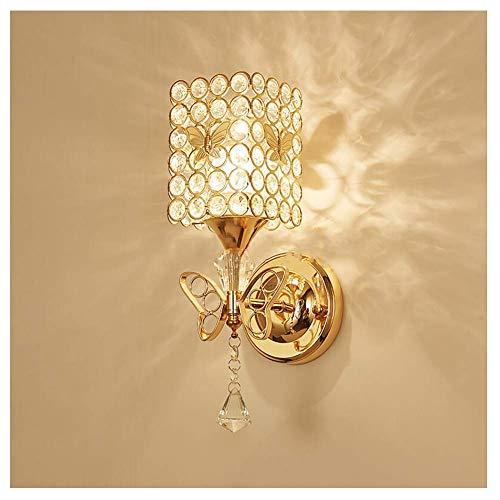Lámpara de Pared LED Simple Aplique - Dormitorio Creativo Cabecera de Cama Pasillo Espejo Luz Principal Escalera Sala de Estar Luminaria [Clase energética A ++]