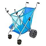 Seina All-Terrain Beach Cart Wheeler with Big Wheels for Sand   All Terrain...