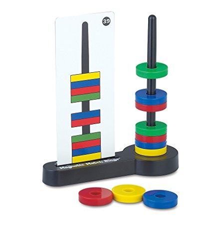 Magnetic Match Rings, Magnet Matching Game STEM Learning Toy for Kids
