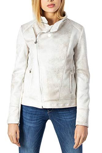 Desigual Broward Jacken Damen Weiss - DE 36 (EU 38) - Lederjacken/Kunstlederjacken Outerwear