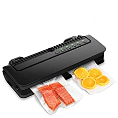 Keep Food Fresh Up to 7x Longer: Ideal food saver for meat, cheese, vegetables, fruits, herbs and marinated food. Keeps them fresh for weeks, instead of days by normal storage; also perfect for preparing sous vide cooking 4 SelectableModes: Provide ...