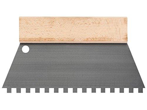 TOOLLAND - HE928250 Zahnspachtel, 8 mm x 8 mm, 250 mm Breite 174627