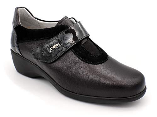 Zapato Velcro para Plantillas DRUCKER M-25608 Negro 36 EU