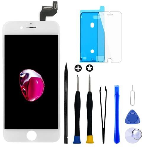 GOLDWANGWANG para iPhone 6S Plus Pantalla LCD de 5.5' Pantalla táctil Digitalizador Conjunto de Marco de Vidrio con Kit de...
