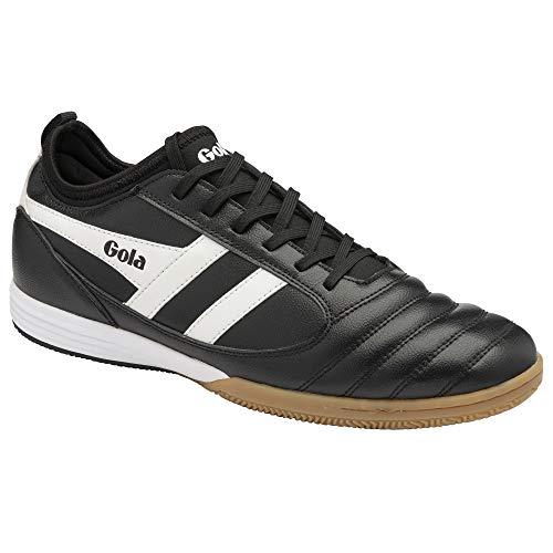 Gola Ceptor TX, Zapatillas de Futsal Hombre, Negro y Blanco, 41 EU