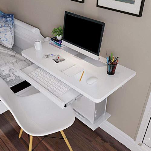 Household simple storage table / Escritorio de la pared flotante flotante del escritorio del ordenador con el teclado bandeja montado en la pared del escritorio del ordenador for espacios pequeños Ofi