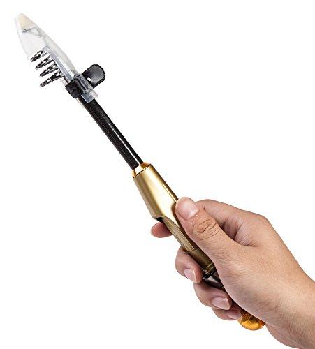【オルルド釣具】究極のコンパクトロッド「ミニルドA」1.5m ゴールド (仕舞寸法:31.8cm) qb300081a02n0