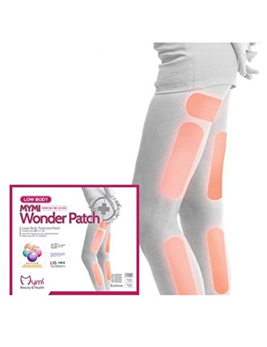 Sempera (TM) 18pcs / pack Mymi Wonder Slim Patch Jambes Bras Minceur perte de poids Patchs Graver Feet Fat Soin Anti-cellulite Sans Retail Box