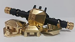 Beef Tubes SCX10 II Differential Cover - Brass BT007DCB
