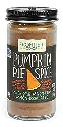 Frontier Pumpkin Pie Spice Salt-Free Blend, 1.92-Ounce Bottle