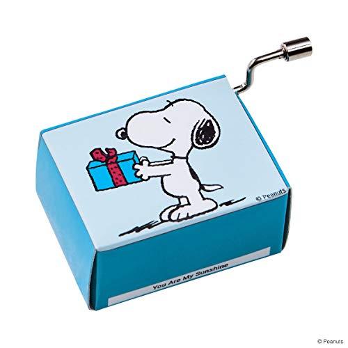 Butlers Sing A Song Spieluhr Snoopy mit Geschenk